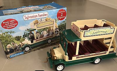 Sylvanian Families Woodland Bus Very Hard To Find