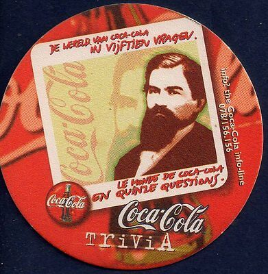 Coca Cola  - Trivia  Coaster From Belgium Ja17031