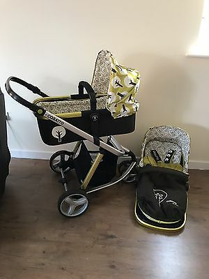 Cosatto Giggle 3 in 1 Treet Travel System Single Seat Stroller