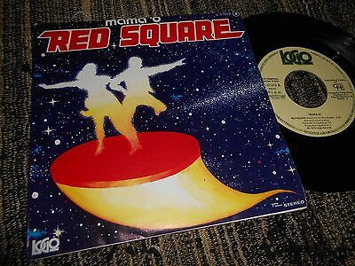 """VANGELIS MAMA'O Red Square/When the cats away 7"""" 1978 SPAIN ed. SPANISH PROMO"""
