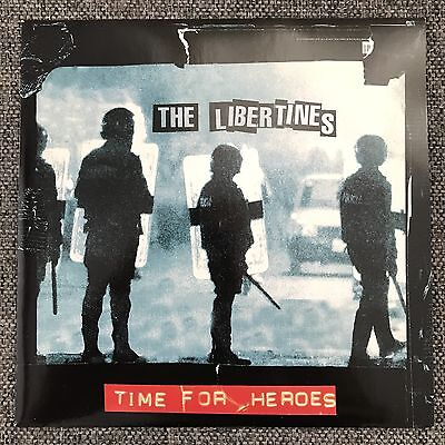 """The Libertines - Time For Heroes - Rare 7"""" Vinyl Indie Punk Pete Doherty"""