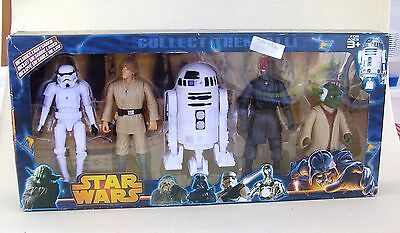 Star Wars Action Figures X5 In A Box - Brand New Sealed-