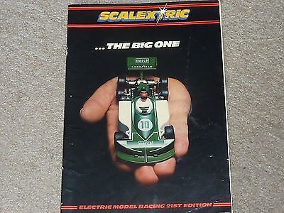 SCALEXTRIC CATALOGUE 21st EDITION