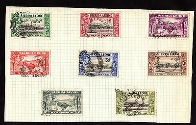 Stamps ~ SIERRA LEONE Includes 1/- ONE SHILLING ~ George VI