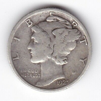 1925 U.S.A. Mercury Dime***Collectors***Silver***