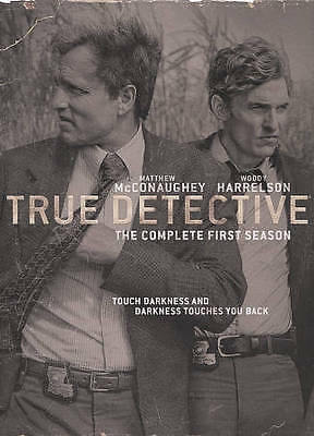 True Detective: The Complete First Season (DVD, 2015, 3-Disc Set)Brand New