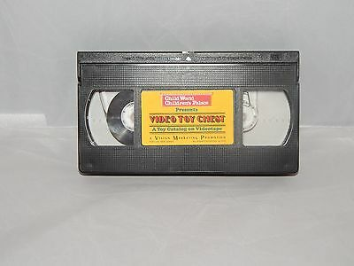 Child World Video Toy Catalog VHS 1990
