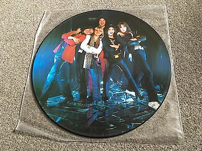 Accept - 1985 Picture Disc Reissue Of 1979 1St Lp Ex - Lots More Metal In Shop!!