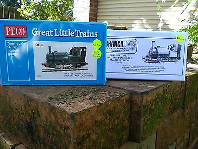 Peco OL2 Fletcher Jennings saddle tank locomotive plus Branchlines chassis BNIB