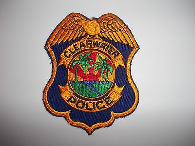 Clearwater FL Police Patch
