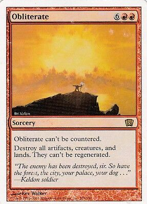 Magic the Gathering 1x Obliterate (PL)