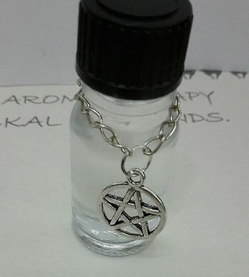 Magical Altar Oil *protection* Pentagram Wicca Pagan Anointing Witch Pure Spirit