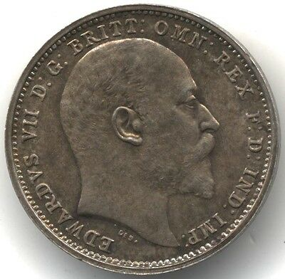 1904 Edward VII Silver Maundy 4p Fourpence***Collectors***
