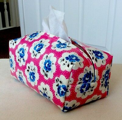 Hand Made Oilcloth Baby Wipes Holders/case Cath Kidston  Provence Rose Pink