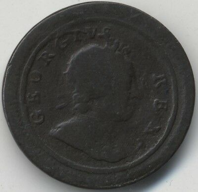 1720 George I Farthing***Collectors***