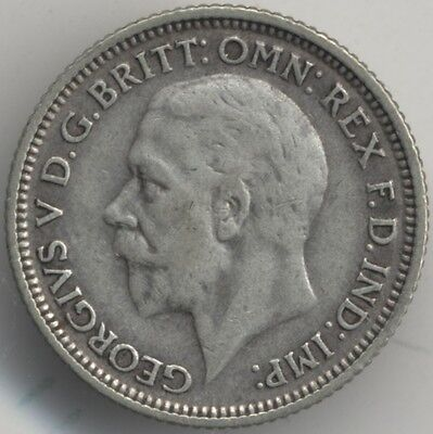1928 George V Silver Sixpence***Collectors***