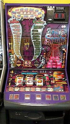 High spirits fruit machine accepts new £1 coin (permit number 005955)