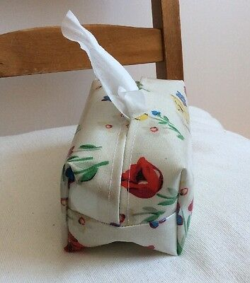 Hand Made Oilcloth Baby Wipes Holders/case Cath Kidston  Paradise Bunch