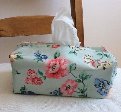Hand Made Oilcloth Baby Wipes Holders/case Cath Kidston  Cavendish Rose