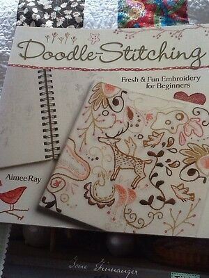 Doodle Stitching Embroidery Book By Aimee Ray