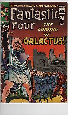 Fantastic Four #48 - 1st appearance of Galactus & Silver Surfer - Key issue!
