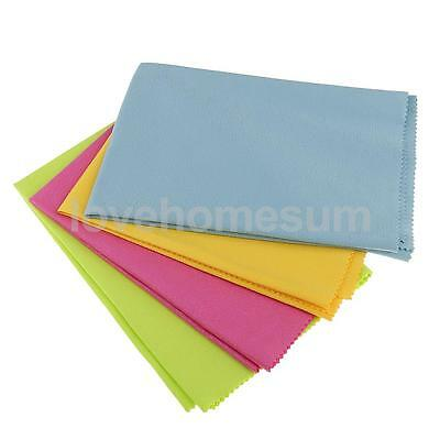 Large 4 Pack Microfiber Cleaning Cloth Eye Glasses Cleaner Tablet TV Screens