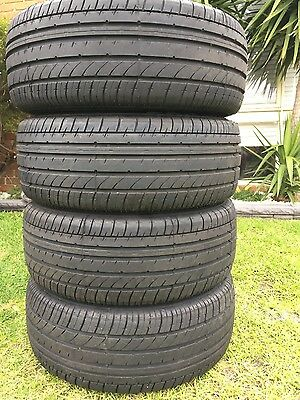 Achilles 2233 tyres 225 55 16 x4 Near New 225/55R16