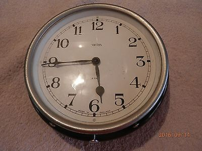 smiths  vintage 8 day ships clock