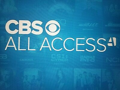CBS all access 24 months with no commercials + Hulu plus no commercials