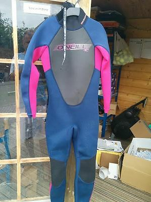 Childrens Wetsuit O'Neill Youth Reactor 3/2mm Full Kids Teen Steamer SIZE 10