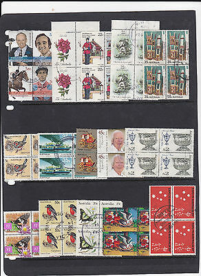 STAMPS..Australia, in block of 4 x 15 , very nice , look closely