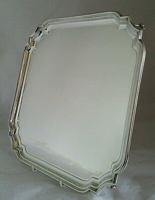 A George VI sterling silver Salver. Sheffield 1939.By William Hutton & Sons Ltd
