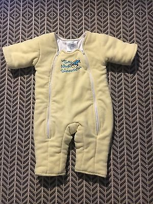 Magic Merlin Sleep Suit - Yellow Size Small 3-6 Months