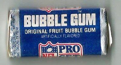 Vintage 1970's American Bubble Gum Wrapper - Unopened Pack