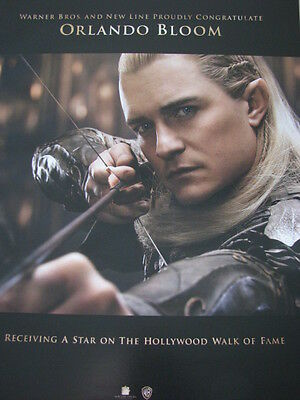 Hobbit Battle of Five Armies  Orlando Bloom as Lee Pace  Oscar Ad  + article x