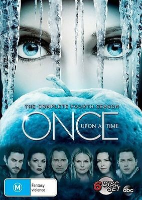 Brand New Sealed - Once Upon a Time The Complete Fourth Season - R4 6 Disc DVD