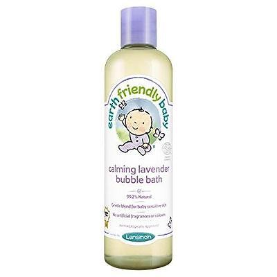 Earth Friendly Baby Calming Lavender Bubble Bath Ecocert