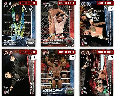 "Topps Digital Slam - Lot of 6 ""Topps Now!"" - See Pictured!"