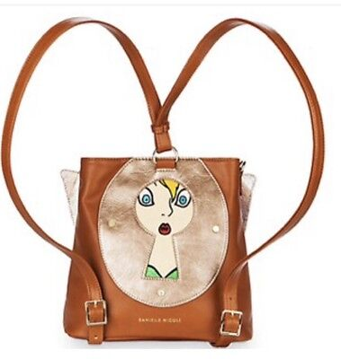 Disney Tinkerbell Backpack By Danielle Nicole,NEW