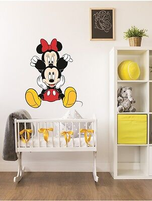 Mickey And Mini Mouse Wall Sticker Decal For Baby's Kids Room Nursery Disney