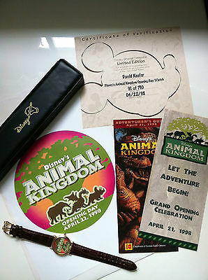 Disney's Animal Kingdom Limited Edition Grand Opening Watch