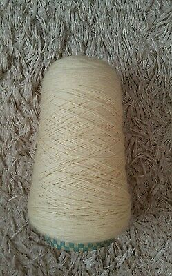 Part cone of 4ply pure wool.  See description and photos