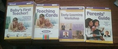 Your Baby Can Read! 2010 Baby's First Teacher DVD Parents Guide Teaching Cards