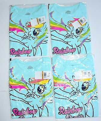 wholesale clothing re-sale Girls Toddler T-shirts 4 pcs all New sealed packages