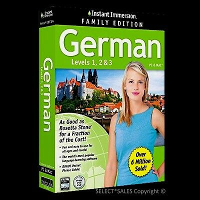 Learn How To Speak GERMAN Language Levels 1, 2 & 3 NEWEST MULTIPLE USERS