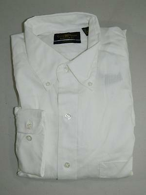 Club Room Men's Dress Shirt Regular Fit Pinpoint NWT Size 15 1/2 32/33 DS898