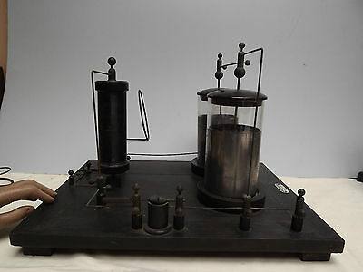 D'Arsonval Coil [ TESLA COIL ] Oudin { C1890 }  Rare { Induction Coil } Radio