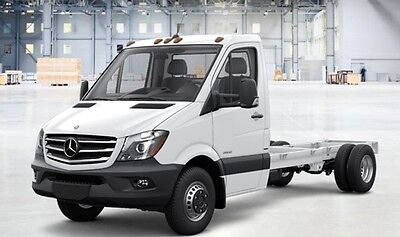 "2016 Mercedes-Benz Sprinter 3500Cab&chassis 12-16ft bodies 170""WB 3.0L diesel printer cab chassis box van truck flatbed dodge ford transit nissan isuzu benz"