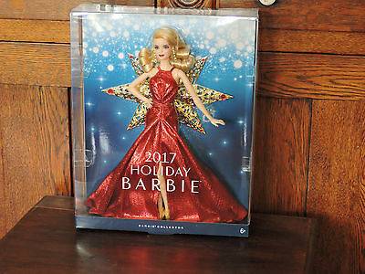 2017 Holiday Christmas Doll IN STOCK  Barbie Doll-- DYX39--mint
