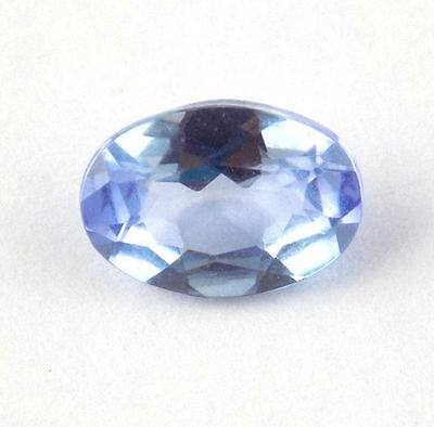 1 Pcs Natural Iolite Oval Shape 5x7mm .75Cts Faceted Normal Cut Loose Gemstone